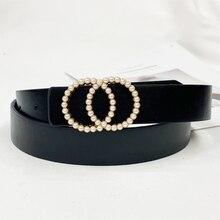 3,70€  cinturones de moda para mujer cintura perla  marca de lujo ceinture femme 2020