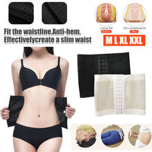 NEW 3XL Slimming Corset Waist Trainer Cincher Cincher Straps Body Shaper Women Postpartum Belly Band Underbust Belly Control(China)