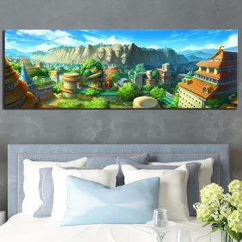 Unframed Cartoon Picture Konohagakurenosato NARUTO Anime Poster Canvas Art Wall Painting for Bedroom Wall Home Decor 1