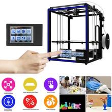 Newest Tronxy DIY 3D printer X5ST-400 Larger Print Size 3.5 Inch TFT Touch Screen PLA ABS Heat Table Filament Machine Sensor