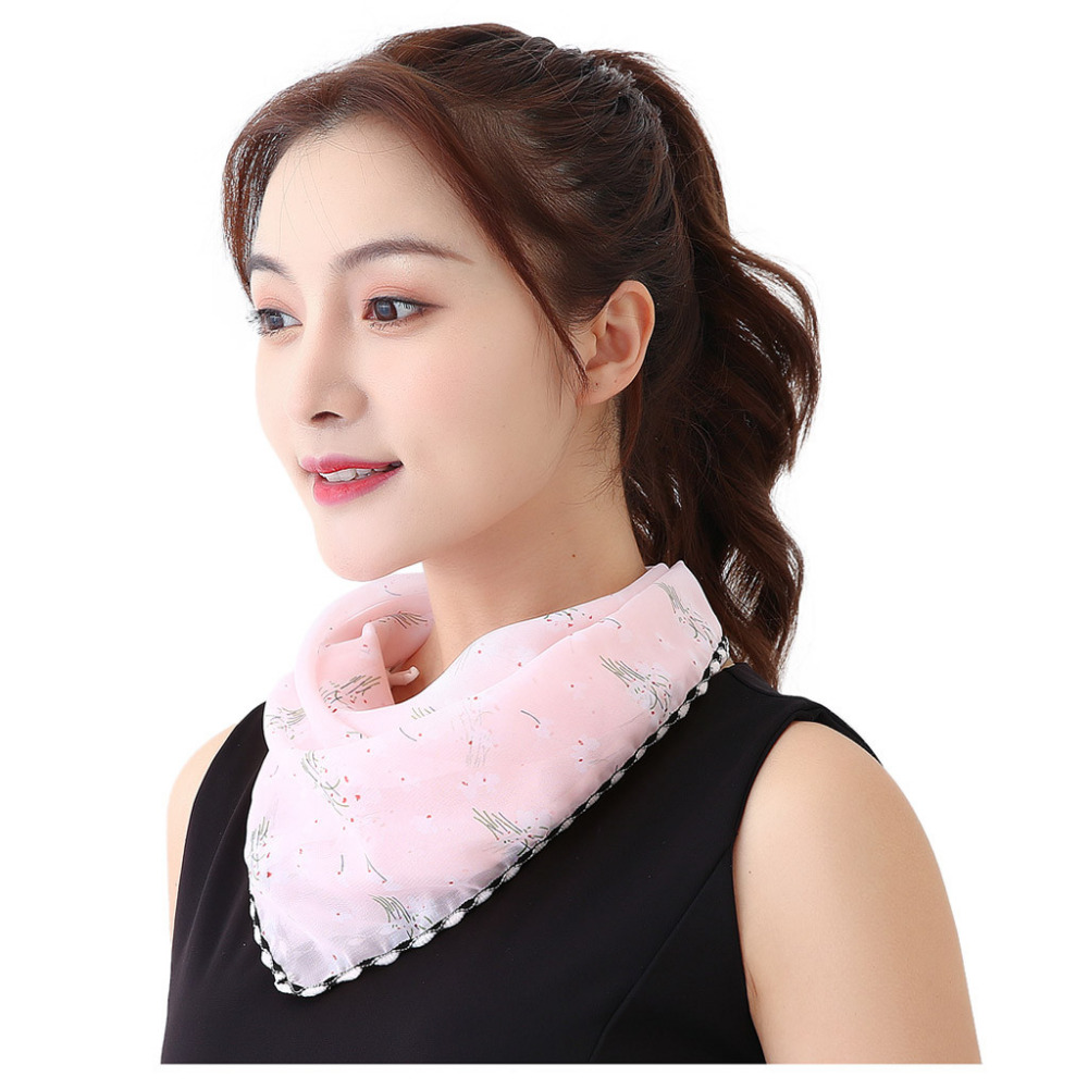 Women's Protective Washable Cotton Scarf Mask 20