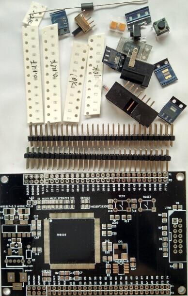 TMS320 F28332 F28334 F28335 Minimum System Board Development Board (Kit Parts)