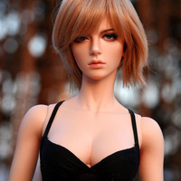 New Fashion Style 1/3 BJD Doll BJD / SD Lovely Doll For Girl Kid Birthday Gift DIY Toy Free eyeball