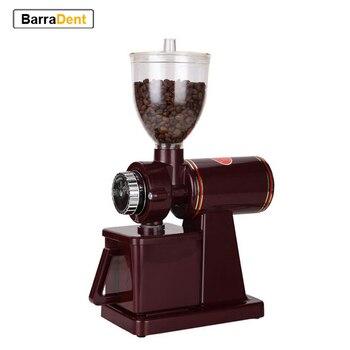 Electric Coffee Grinder Coffee Mill Bean Grinder Machine Flat Burrs Grinding Machine 220V/110V Burgundy/Black EU US Plug mazzer robur original burrs coffee grinder espresso machine spare part