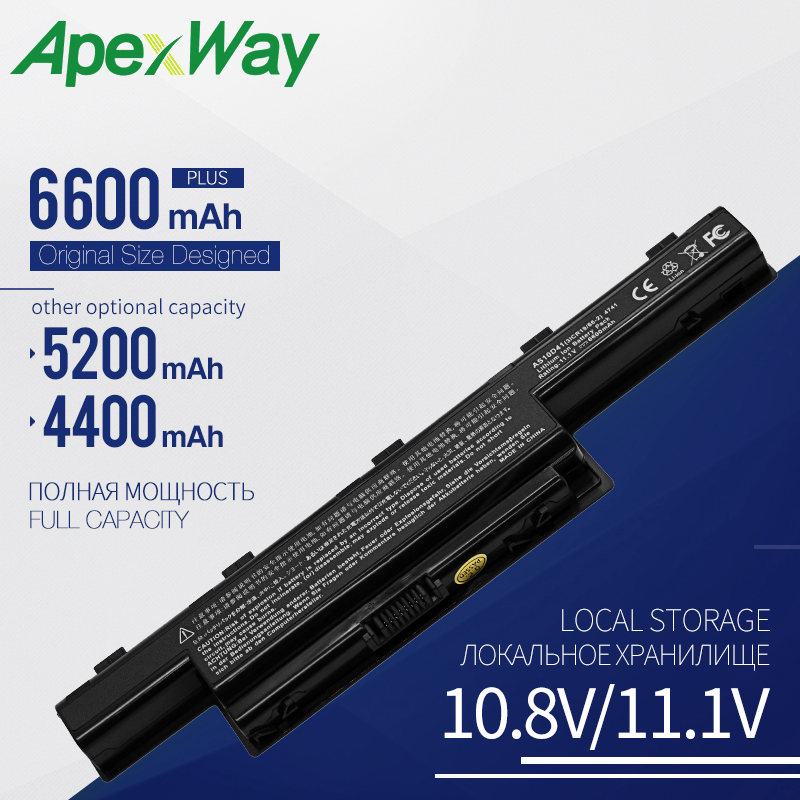 Apexway Laptop <font><b>Battery</b></font> AS10D31 AS10D51 AS10D81 for <font><b>Acer</b></font> <font><b>Aspire</b></font> <font><b>5750G</b></font> 5742G V3 571G V3-571G 771G for <font><b>Acer</b></font> <font><b>Battery</b></font> AS10D61 AS10D71 image