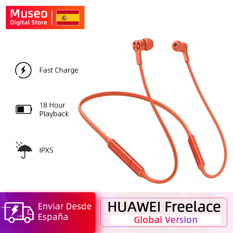 <font><b>Original</b></font> <font><b>Huawei</b></font> FreeLace Wireless Headset Bluetooth Wasserdichte Sport in-ohr Hohlraum metall Magnetische Silikon image