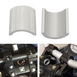 Image 4 - 4 sztuk/zestaw motocykl 7/8 Cal do 1 Cal 22cm podnośnik kierownicy zacisk konwersji podkładki reduktor muszle dystansowe motor terenowy zaktualizowane