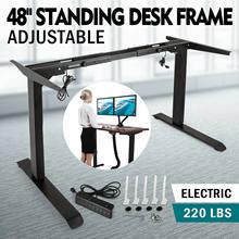 O bonde levanta-se o quadro da mesa com a base ereta ajustável da altura dupla do motor