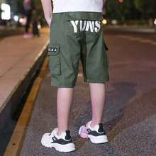 Kid Pants For Boys cargo Pant Letters  Autumn Kids Casual Clothes Winter Teenage Clothing 4 6 8 12 14 Years
