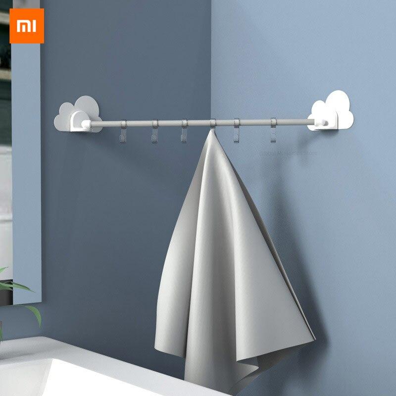 Xiaomi zhichuang youpin nuvem ligação gancho para cozinha quarto banheiro recebe traceless gancho transparente sem perfuração