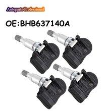 4 unids/lote 433MHZ para Mazda 2 3 5 6 CX-5 CX5 CX-6 CX6 CX-9 CX9 MX-5 Artz TPMS neumático sensor de presión BHB637140A coche BHB6-37-140A