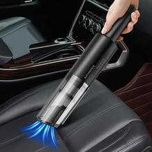 Беспроводной портативный автомобильный пылесос с ручным пылесосом, автомобильный бытовой пылесос двойного назначения 120W6000pa, Мощное всасы...