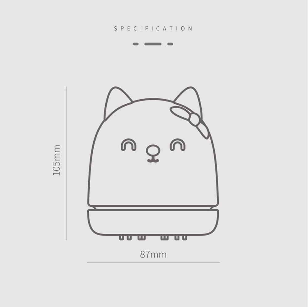 Pink/White Portable Mini Cute Cat Desk Vacuum Cleaner MM1712