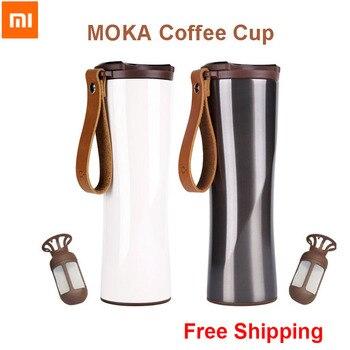 Xiaomi baiser baiser poisson Moka inoxydable tasse à café intelligente bouteille d'eau sous vide thermique App Rmote contrôle capteur de température sensible|Télécommande connectée| |  -
