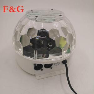 Image 4 - F & GMini RGBW 15W KTV גביש קסם כדור Led שלב מנורת DJ דיסקו לייזר אור מסיבת אורות קול מועדון חג המולד אורות
