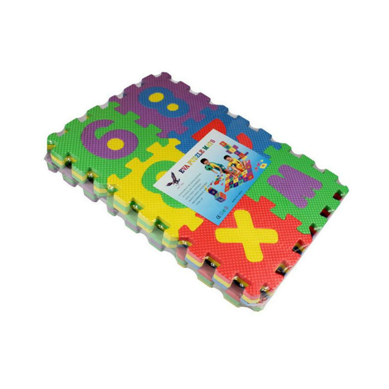 36pcs/set Kids Playing Foam Carpet EVA Jigsaw Foam Puzzle Play Mat 66*66cm Toys For Baby Learning And Education Goma Eva