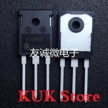 Original 100% NEW K50H603 IKW50N60H3 600V 50A IGBT TO-247 50PCS/LOT 2mbi100l 060 module igbt 600v 100a