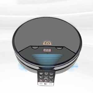 Light Robot Vacuum Cleaner with Strong Suction and Remote Control Super Quiet Design Ultra-slim Body Touch Switch(China)