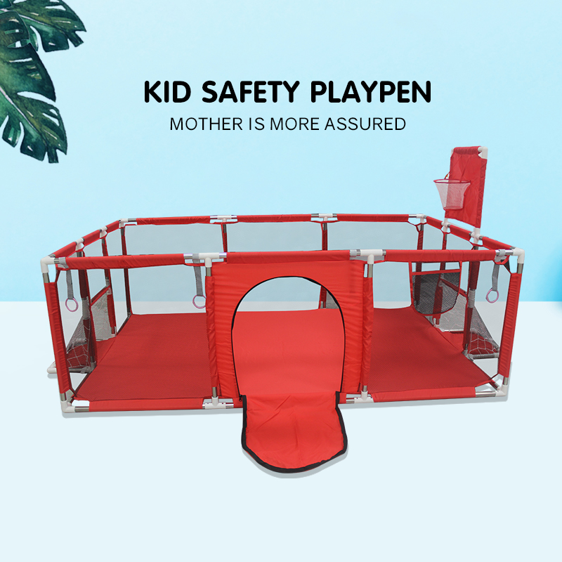 Детский манеж IMBABY для детей, детская кровать для бассейна, Детская забор, крытая игровая площадка для баскетбола, футбольного поля, игровой ...