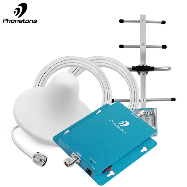Specially for Russia GSM 2g 900 mhz WCDMA Tele2 4G Repeater Amplifier MTS Signal Repeater Cellular Signal Booster Amplifier kit