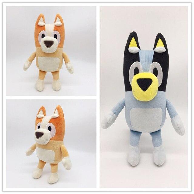 28cm dessin animé Bluey Bingo en peluche jouet Figure en peluche chien poupées belle chiot jouets enfants cadeau