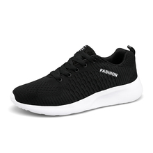 2020 New Men Breathable Sneakers Non-slip Men Walking Shoes Male Air Mesh Lace Up Wear-resistant Casual Shoes Tenisb Masculino