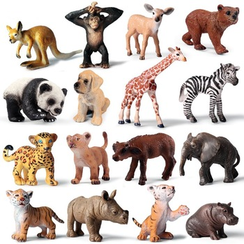 1 pçs mini selvagem zoológico fazenda savana leão africano animal rei pássaro série leopardo gato pantera jaguar modelo de brinquedo para crianças presente
