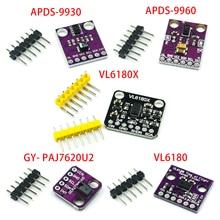 Gesture recognition sensor PAJ7620U2 9 gesture recognition APDS 9930 APDS 9960 VL6180 VL6180X Range Finder Optical Ranging