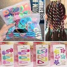 Hair Clips Women Hairclips Headwear Barrette Hairgrips Headband Crystal Long Elastic Hair Bands Hair Accessories
