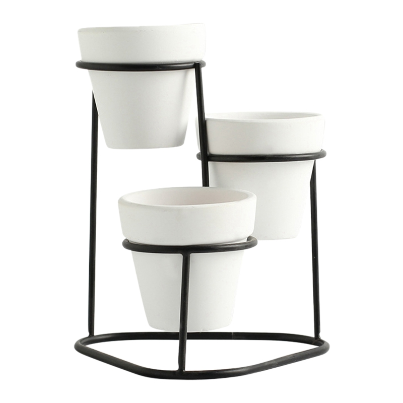 Display-Stands Flower-Pots Plant Garden Nordic-Style Indoor Mini Modern Home Simple High-Quality