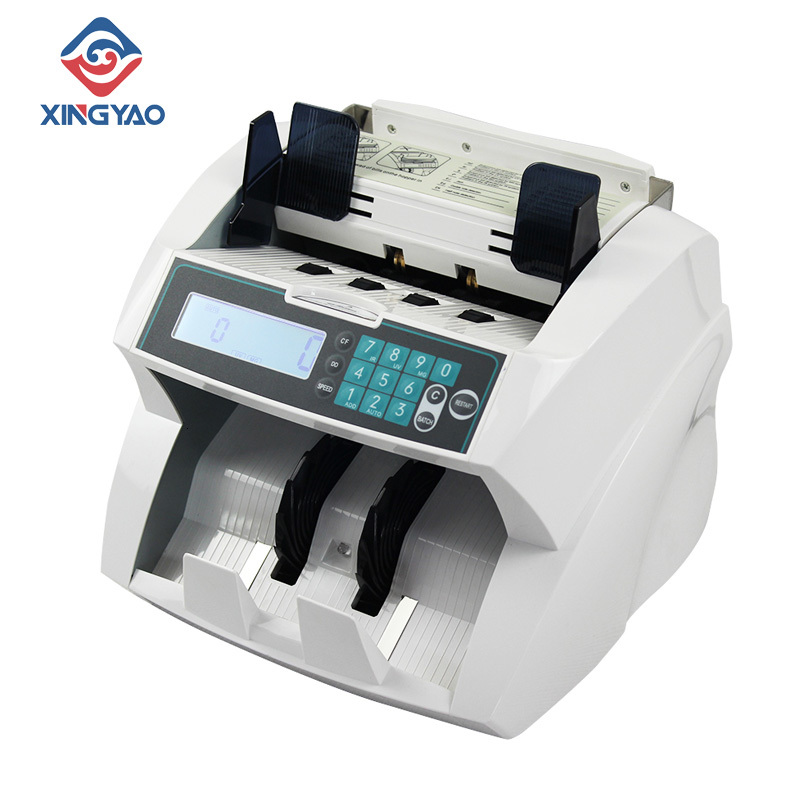 Customized UV/MG/IR/DD Detection Billnotes Counter For Canada Polymer  Currency Counter World Notes Multi Money Counting Machine|Money Counter/Detector| |  - title=