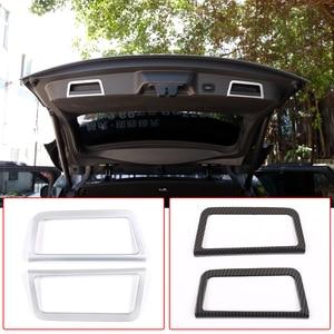 Image 1 - 자동차 뒷 트렁크 테일 도어 핸들 프레임 커버 트림 실버 ABS 크롬 랜드 로버 레인지 로버 Evoque (L551) 2020 자동차 액세서리