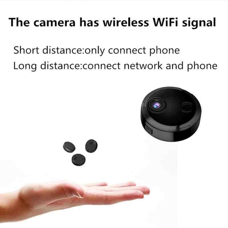 HDQ15 1080P HD WIFi камера HD Беспроводная сеть домашняя камера безопасности карманный мини ночного видения Спортивная камера Поддержка TF карта