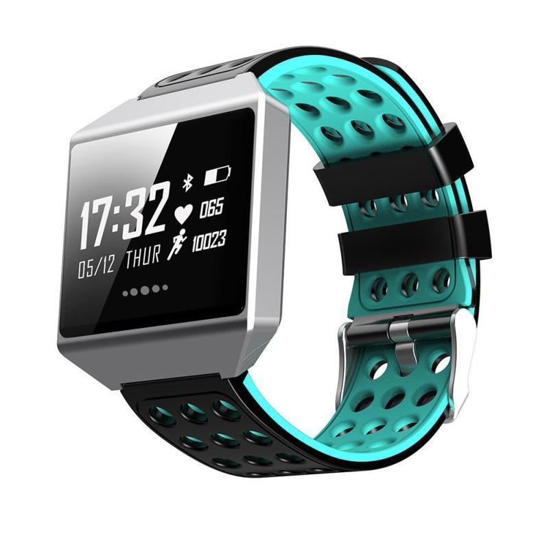 Montre intelligente CK12 montre moniteur de fréquence cardiaque de pression artérielle Bracelet intelligent Tracker de Fitness passomètre Smartband pour téléphone xiomi