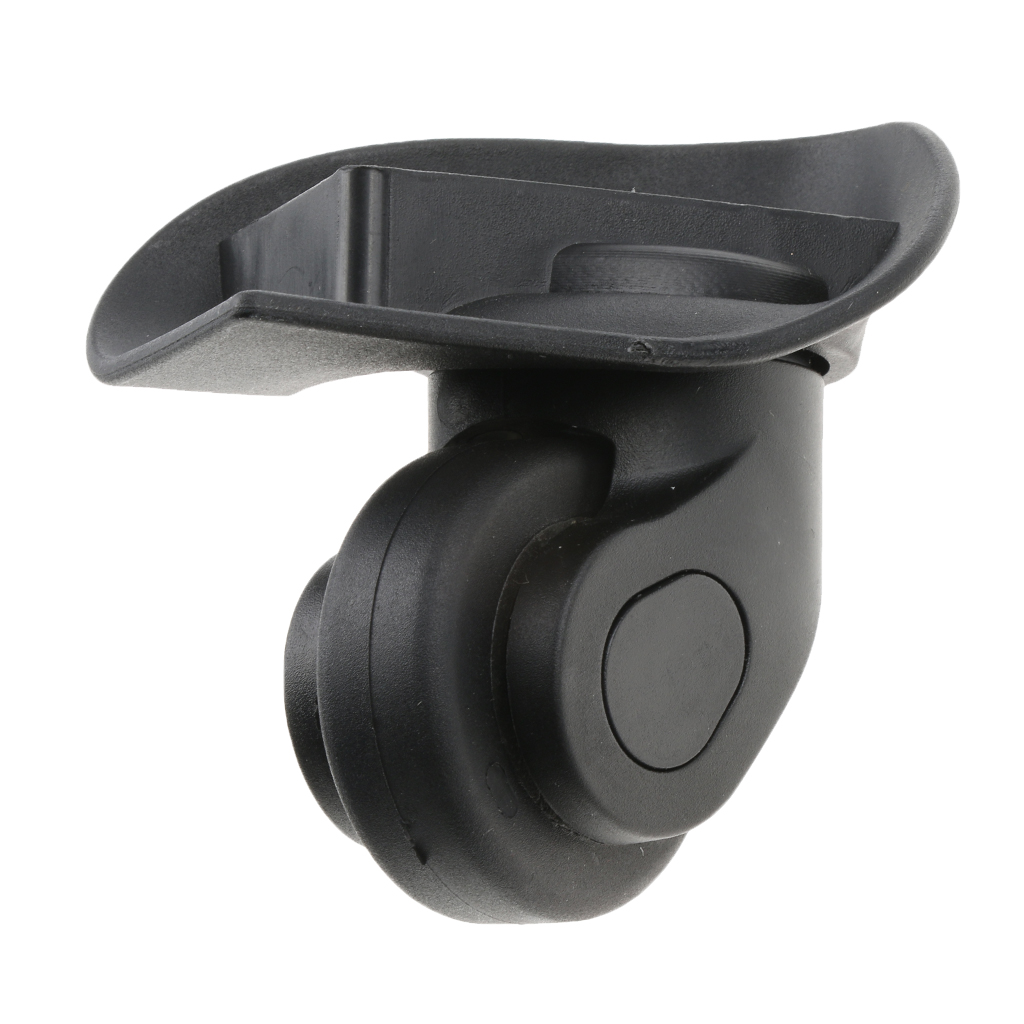 1 Pair A20 Mute Swivel Wheels Suitcase Luggage Replacement Casters For Travelling Bag
