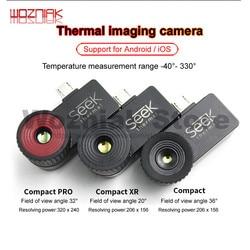 Продажа Seek Thermal Imager Compact /Compact XR/Compact PRO инфракрасная камера ночного видения Android IOS обслуживание материнской платы