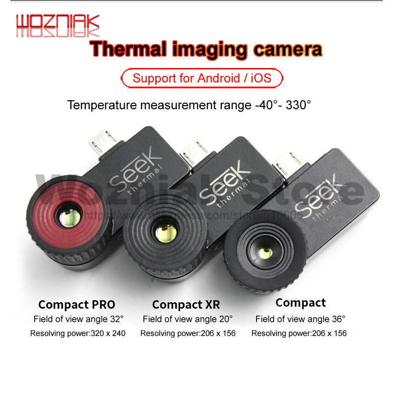 Sales Seek Thermal Imager Compact /Compact XR/Compact PRO Infrared Imaging Camera Night Vision Android IOS Mainboard Maintenance