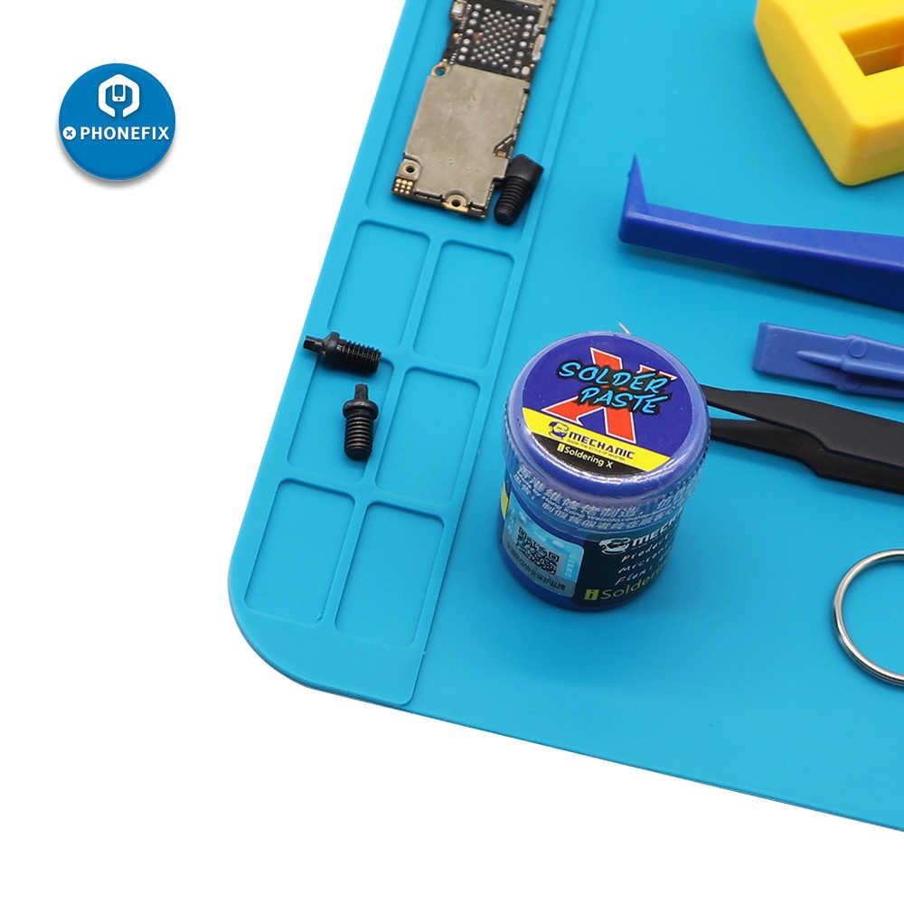 30 Cm * 20 Cm Panas Isolasi Silikon Solder MAT Anti-Statis Mat Tahan Panas Bekerja Pad untuk Ponsel PCB Solder Pad Platform