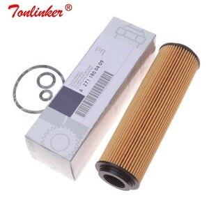 Image 3 - オイルフィルター A2711800009 1 個メルセデスベンツ C CLASS W203 CL203 S203 2001 2011 C180 C200 C230 コンプレッサーモデル紙オイルフィルター