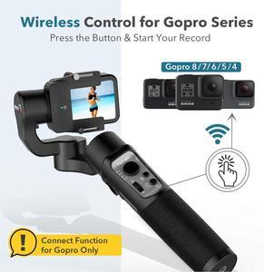 Image 2 - 3 осевой карданный стабилизатор для экшн камеры GoPro 8 ручной карданный стабилизатор для Gopro Hero 8,7,6,5,4,3, Osmo Action Hohem iSteady Pro 3