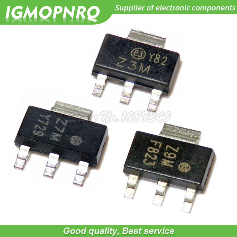 Z9M Z0109MN5AA4 SMD 4 Stück Z0109MN STM TRIAC SOT223 1A 600V 4pcs