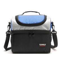 New Design Thick Warm Thermal Insulated Boxes Nylon Lunch Bag Outdoor Cooler Lunch Box Insulation Bags new thermal insulation bag baby feeding bottle cooler bags backpack lunch box for baby care mother