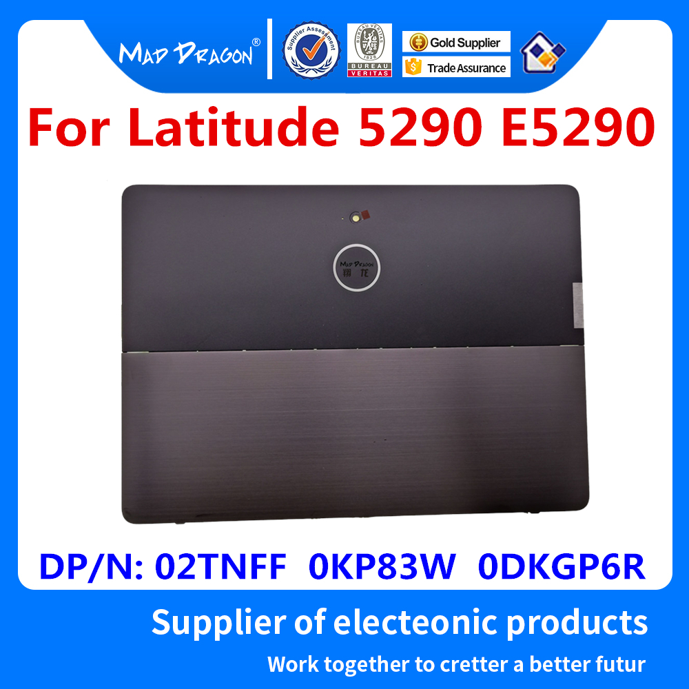New Tablet Back Cover Fixed Bracket Bottom Door Cover For Dell Latitude E5285 E5290 5285 5290 2-in-1 0KP83W 02TNFF 2TNFF 0KGP6R