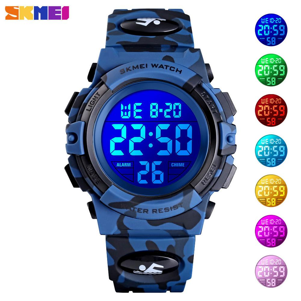 <font><b>SKMEI</b></font> Kids Watches LED Fashion Sport Watch Children's Watches Digital Wristwatch For Kids Boys Girls Wrist Watches Relogio <font><b>1548</b></font> image