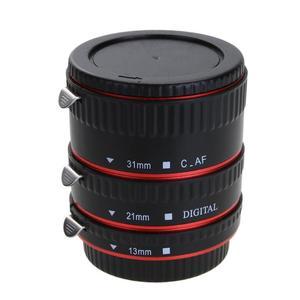 Image 2 - Adaptador de lente de cámara de enfoque automático AF Tubo de extensión Macro/anillo de montaje para objetivo CANON EF S para Canon EOS EF EF S 60D 7D 5D II 550D