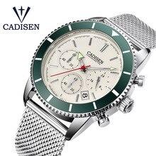 CADISEN Men's Watches Waterproof Quartz Watch