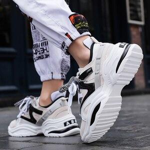 Image 4 - Chaussures de sport Vintage en maille respirante pour homme, confortables et à la mode, automne 2019, chaussures décontractées