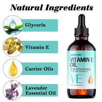 LAGUNAMOON Organic Pure Natural Vitamin E Oil Face Body Skin Moisturize Reduce Wrinkles Reduce the Look of Scars 120ML 2