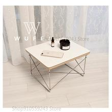 Table Sofa Small No Square Nordic-Side Iron Apartment Bedroom Living-R Simple