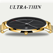 2019 Women's Watches Ultra-thin Rose Gold Bracelet Ladies Watch